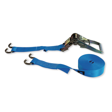 Lashing-belt with profile hook, 2-part